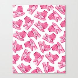 Larry Shoes Canvas Print