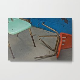 tipped over Metal Print