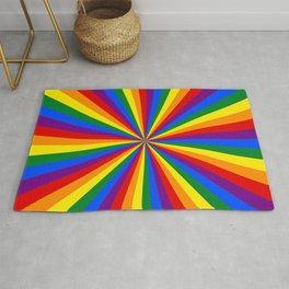 Eternal Rainbow Infinity Pride Rug