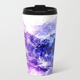 galaxy mountains Travel Mug