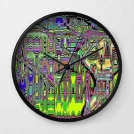 Gumby Loves Gidget B Wall Clock