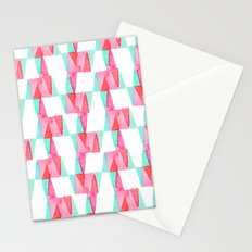 Cheery Triangles Stationery Cards