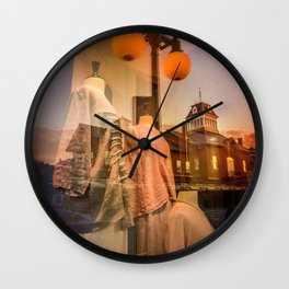 Diffraction 7 Wall Clock