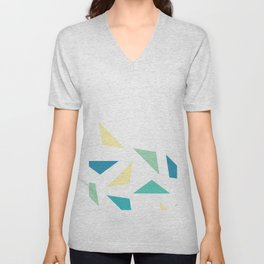 triangle corner Unisex V-Neck