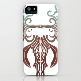 Abstract Elephant iPhone Case