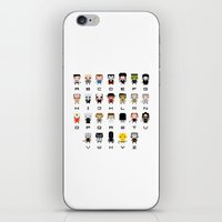movies iPhone & iPod Skins featuring Horror Movies Alphabet by PixelPower