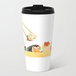 Maki Neko Metal Travel Mug