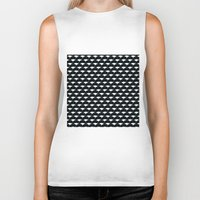scales Biker Tanks featuring scales by asal