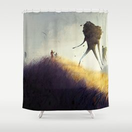 The Earth Giants Shower Curtain