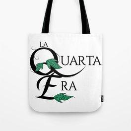 LaQuartaEra_White Tote Bag
