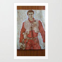 Hot Dameron Art Print