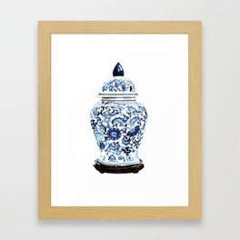 GINGER JAR NO. 4 PRINT Framed Art Print