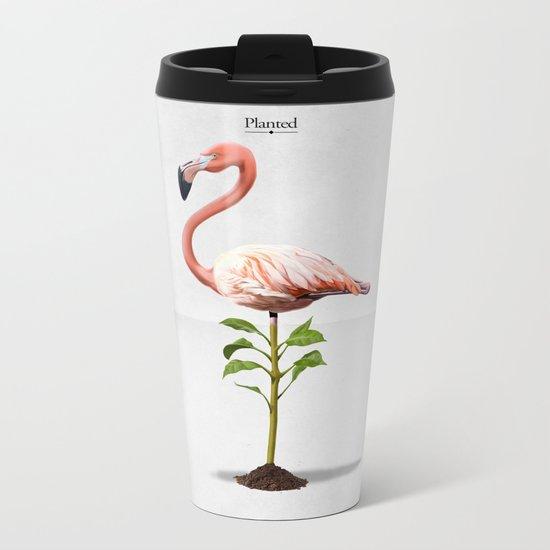 Planted Metal Travel Mug