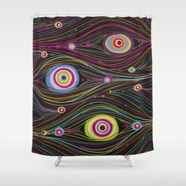 Peacock Dreams Shower Curtain