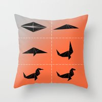 seal Throw Pillows featuring SEAL by ARCHIGRAF