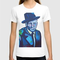 frank sinatra T-shirts featuring Frank Sinatra by camilletheriot