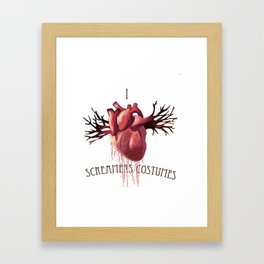 Eat your Heart out2 Framed Art Print