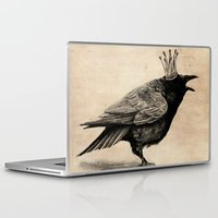 raven Laptop & iPad Skins featuring Raven by Anna Shell