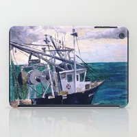 england iPad Cases featuring New England by Samantha Crepeau