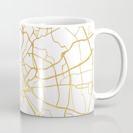 ROME ITALY CITY STREET MAP ART Coffee Mug
