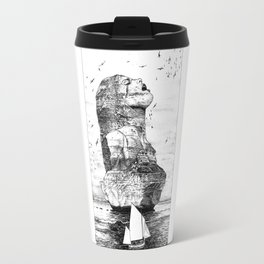 asc 757 - La nostalgie est une île (The remains) Travel Mug