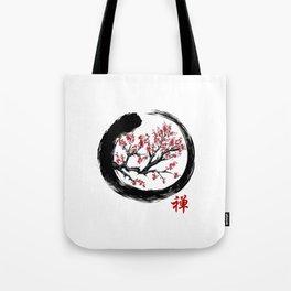 Japanese ENSO ZEN Buddhist SHIRT Tote Bag