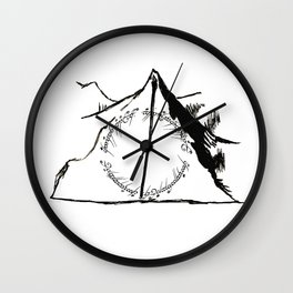 Mixed fandoms Wall Clock