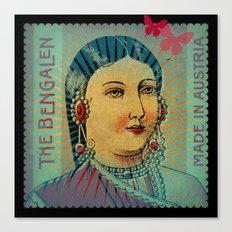 Matchbox Lady Canvas Print