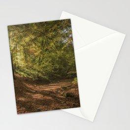 Autumn Woodland  Sunrise Stationery Cards