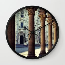 Duomo of Milan Wall Clock
