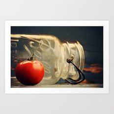 Canning Day Art Print