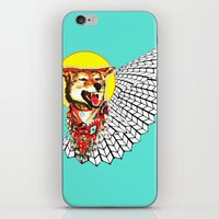 coyote iPhone & iPod Skins featuring Coyote by Renaissance Youth