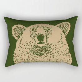 Kodiak Bear Rectangular Pillow
