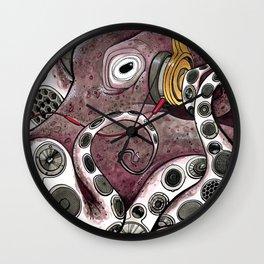Hip Hip Octopus Wall Clock