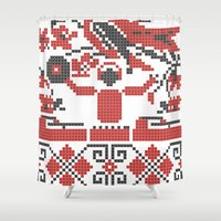 deadmau5 Shower Curtains featuring Ethno DJ by Sitchko Igor