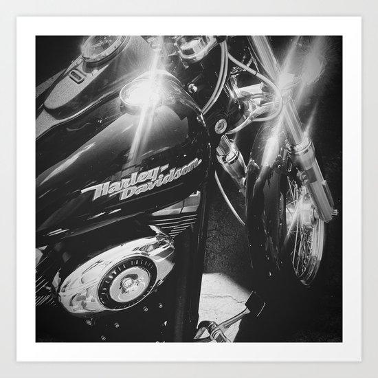 Harley III Art Print