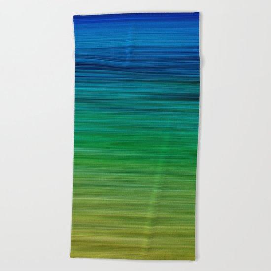 SEA BLUES Beach Towel
