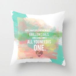 Taylor's Love  Throw Pillow