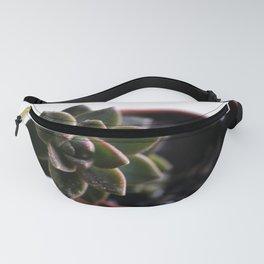 Succulent Close-Up Fanny Pack