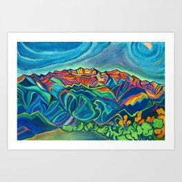 Topa Topas Art Print