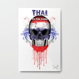 To The Core Collection: Thailand Metal Print