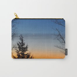 Crescent Moon Sunrise Carry-All Pouch