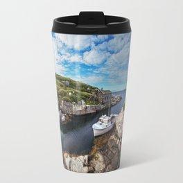 Moored at the Lighthouse Travel Mug