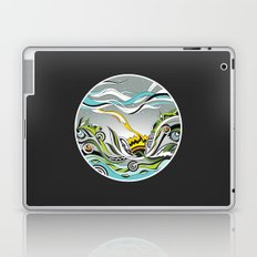 When the Earth meets the Sky Laptop & iPad Skin