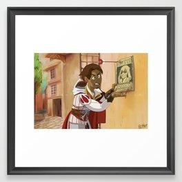 Ezio Rider Framed Art Print