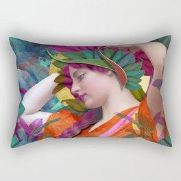 Pallas Athena Botanical Rectangular Pillow