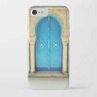 morocco iPhone & iPod Cases featuring Morocco Door by Diego Tirigall