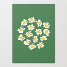 Bunch of Daisies Canvas Print