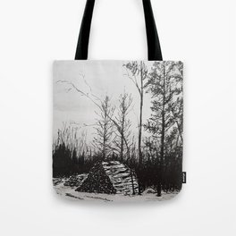 Winter Woodlot Tote Bag