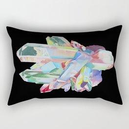 Aqua Aura Rectangular Pillow